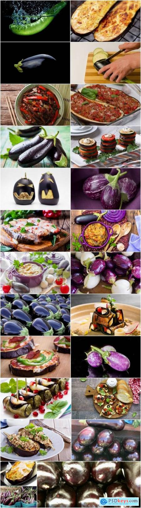 Eggplant vegetable dish salad 25 HQ Jpeg
