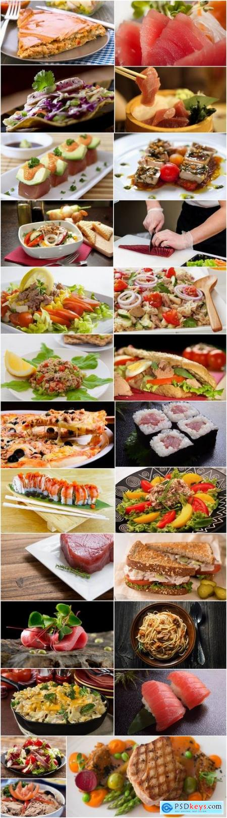 Tuna dishes from it 25 HQ Jpeg
