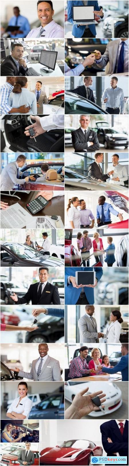 Car dealer salesman manager 25 HQ Jpeg
