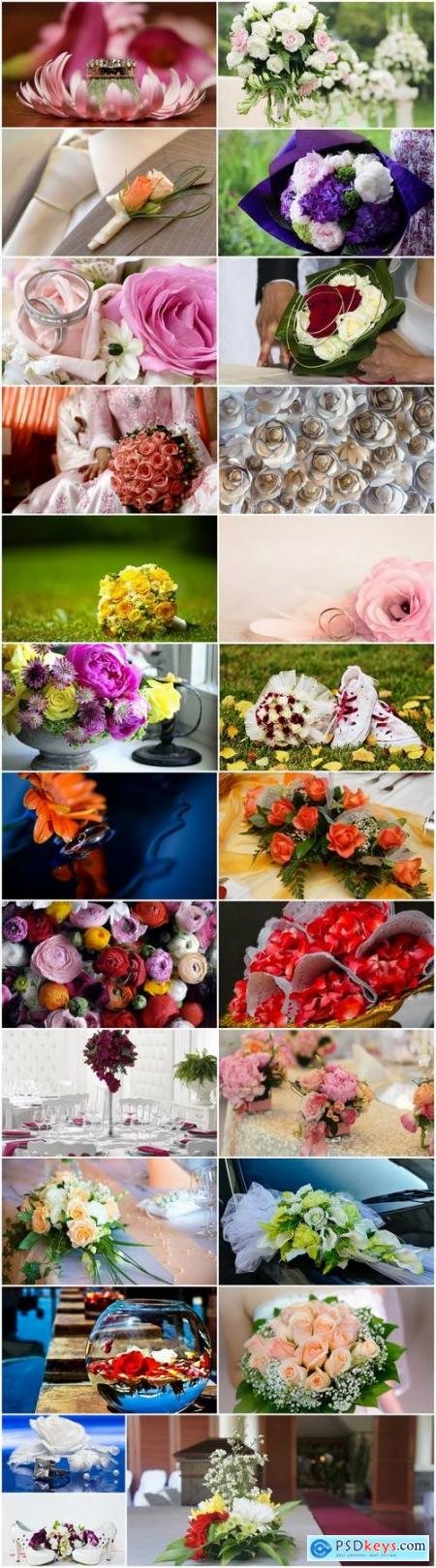 Wedding flower interior ring 25 HQ Jpeg