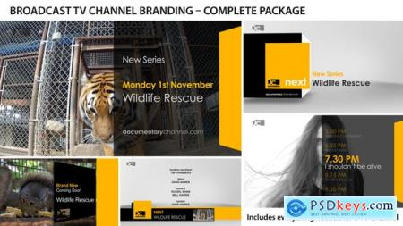 Videohive Broadcast Design - TV Channel Branding 1Free