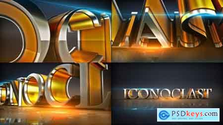 Videohive Shiny Element Text Logo Opener Free