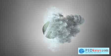 Videohive Beauty Particles Logo Reveal Free