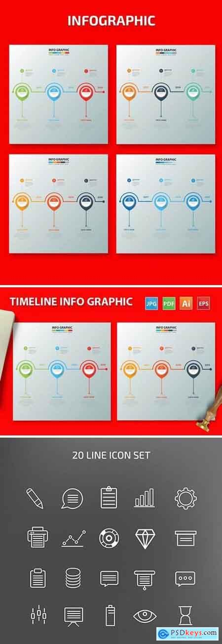 Timeline Infographic Design 2