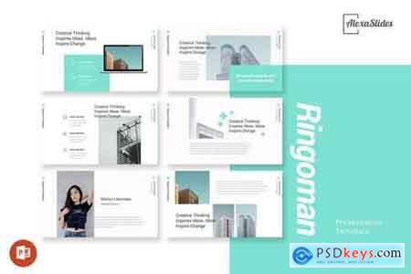 Ringoman - Creative - Powerpoint, Keynote, Google Sliders Templates