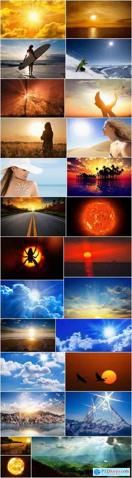 Sun nature sunset dawn landscape sea warmth 25 HQ Jpeg