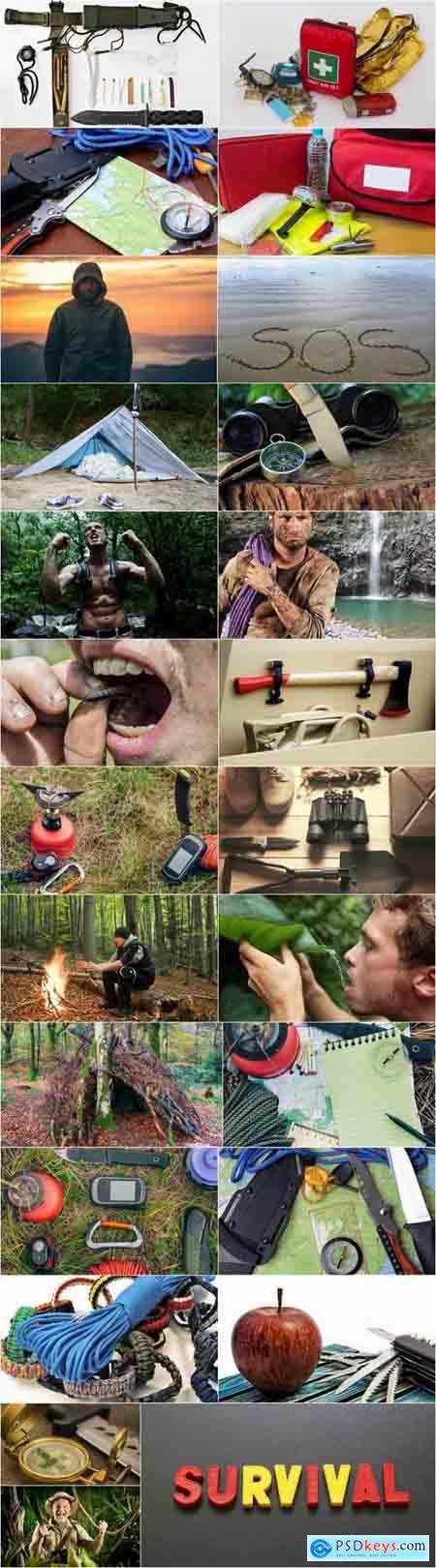 Travel survival kit scout tourism traveler 25 HQ Jpeg
