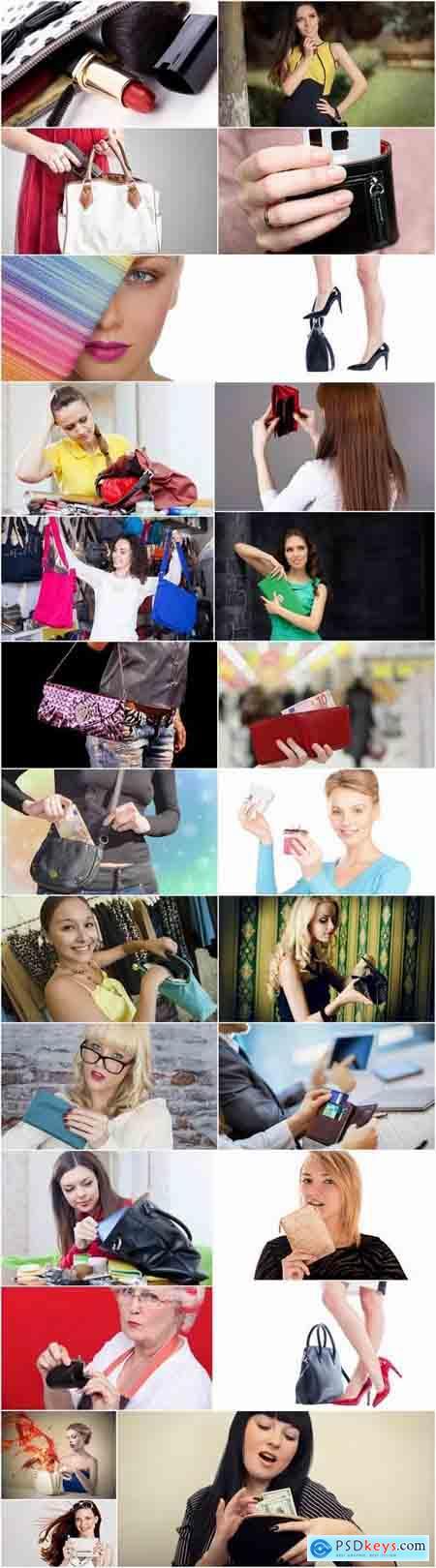 Purse bag luggage girl woman shopping 25 HQ Jpeg