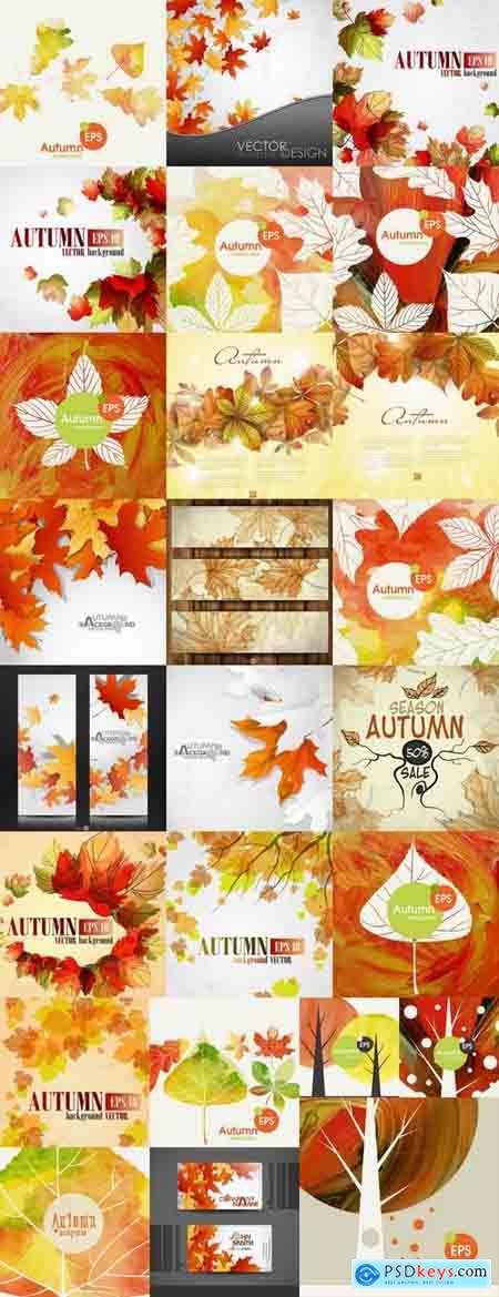 Autumn cards 25 Eps
