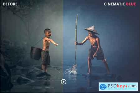 Thehungryjpeg Cinematic Lightroom & ACR Presets