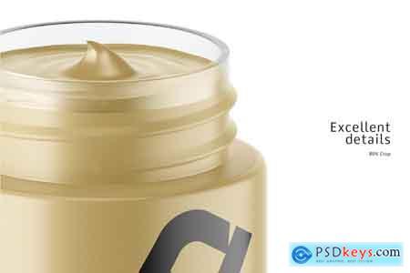 Creativemarket Cosmetic Matte Jar Mockup 4