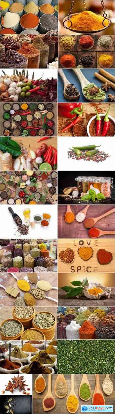Spices garlic pepper seasoning sharpness 25 HQ Jpeg