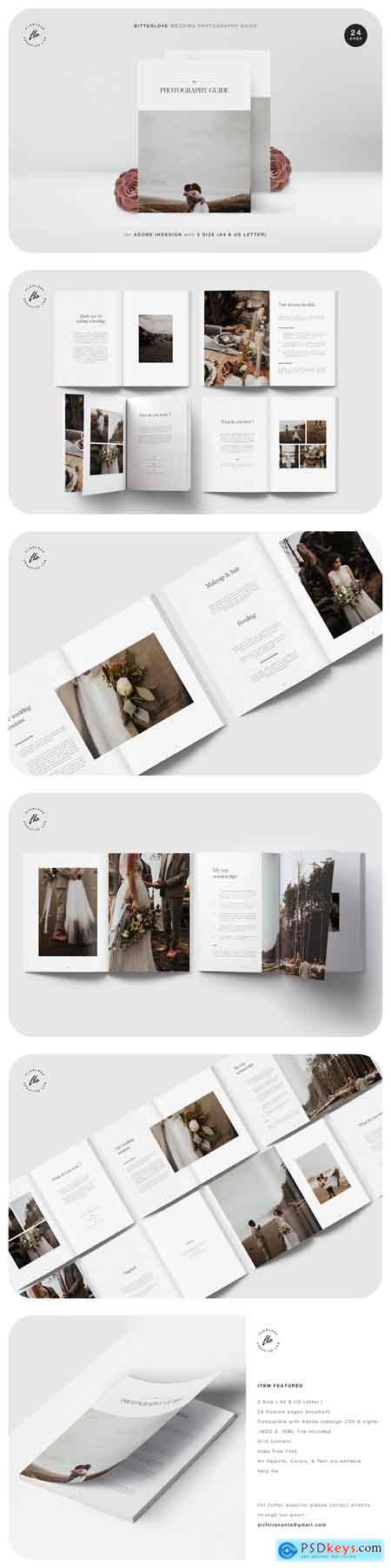 Creativemarket BITTERLOVE Wedding Photography Guide