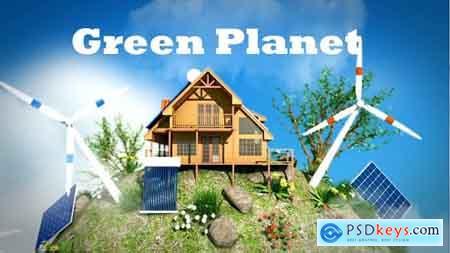 Videohive Eco Planet - Renewable Energy Free