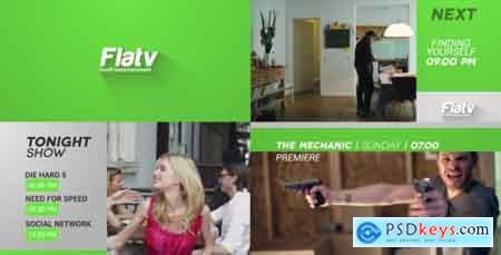 Videohive Flat Broadcast Pack Free
