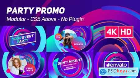 Videohive Party Promo Free