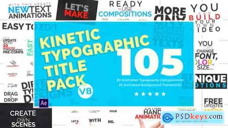 Videohive Kinetic Typography Pack V.8 Free