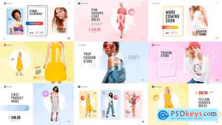 Videohive Fashion Store Pack Free