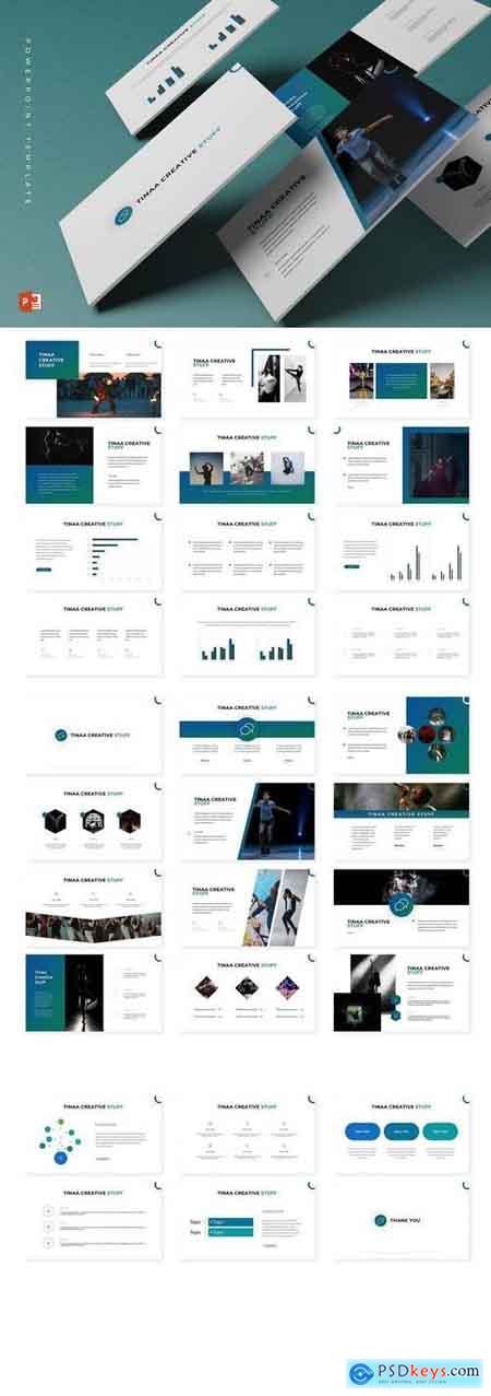 Tina - Powerpoint, Keynote, Google Sliders Templates