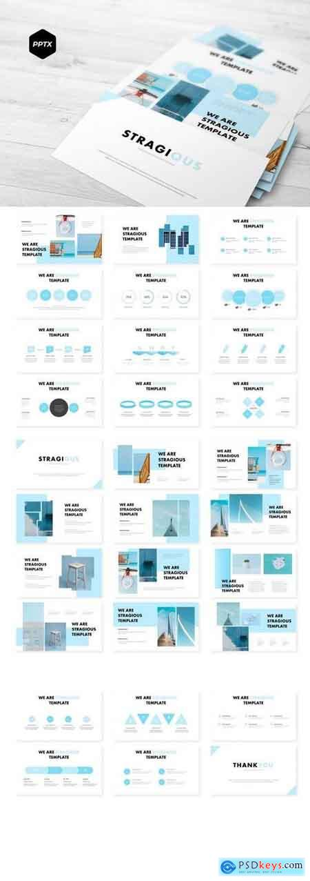 Stragious - Powerpoint, Keynote, Google Sliders Templates