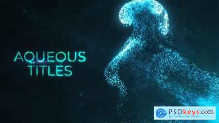 Videohive Aqueous Titles Free