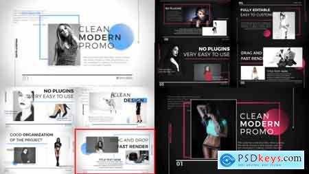 Videohive Clean Fashion Slideshow Free
