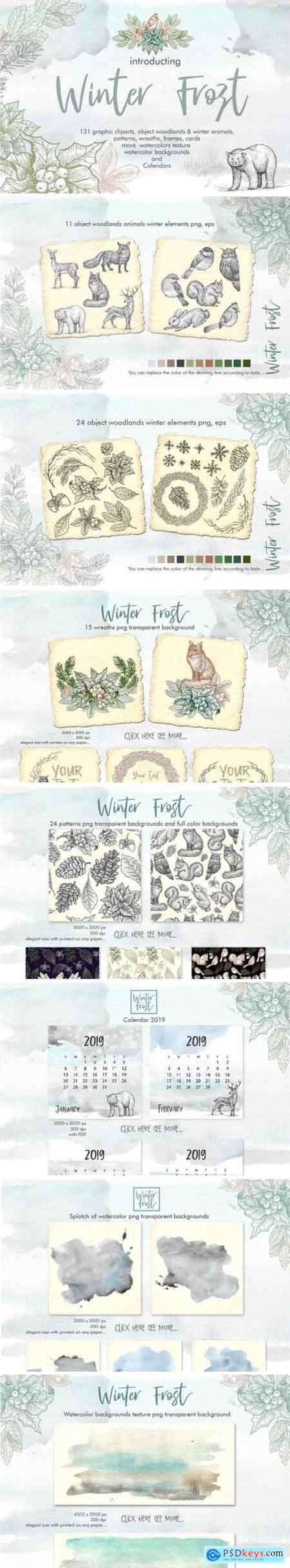 Creativemarket Winter Frost