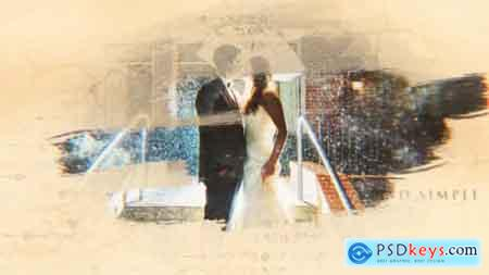 VideoHive Wedding Romantic Ink & Brush Story 20843183 After Effects Projects Free