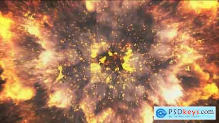 VideoHive Fire Drop Logo Free