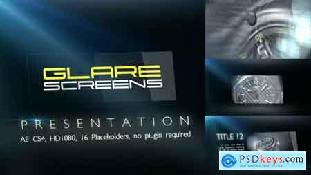 VideoHive Glare Screens Presentation Free