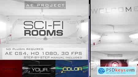 VideoHive Sci-Fi Rooms Free