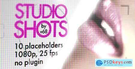 VideoHive Studio Shots Promo Displays Free