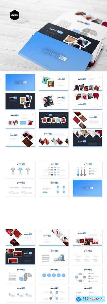 Galleria - PowerPoint, Keynote and Google Slides Template