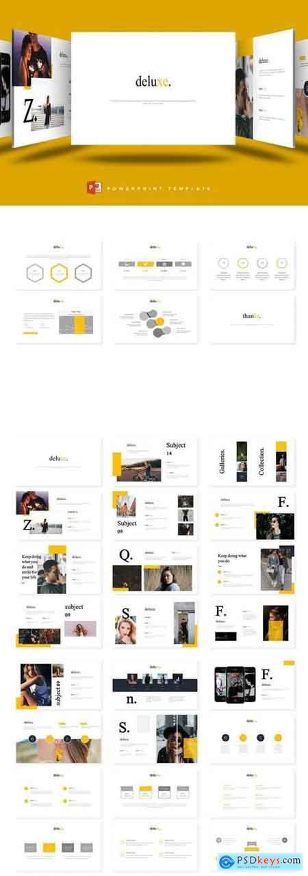 Deluxe - PowerPoint, Keynote and Google Slides Template