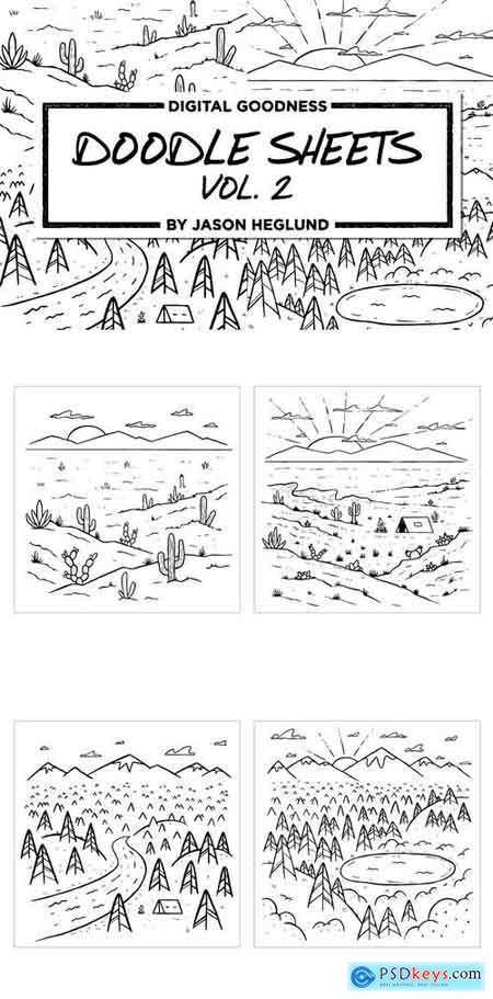 Doodle Sheets Vol. 2