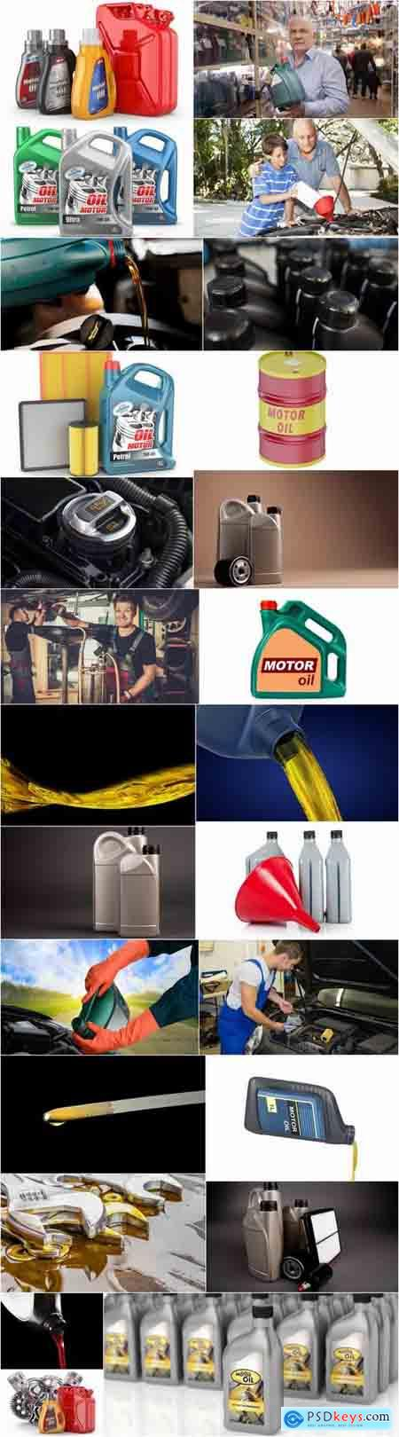 Engine oil lubricant motor vehicle technical services 25 HQ Jpeg