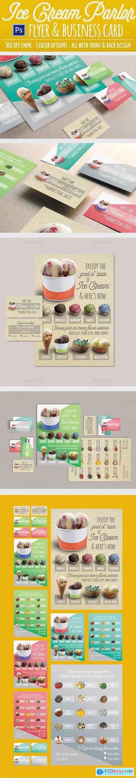 Graphicriver Modern Ice Cream Parlor Flyer
