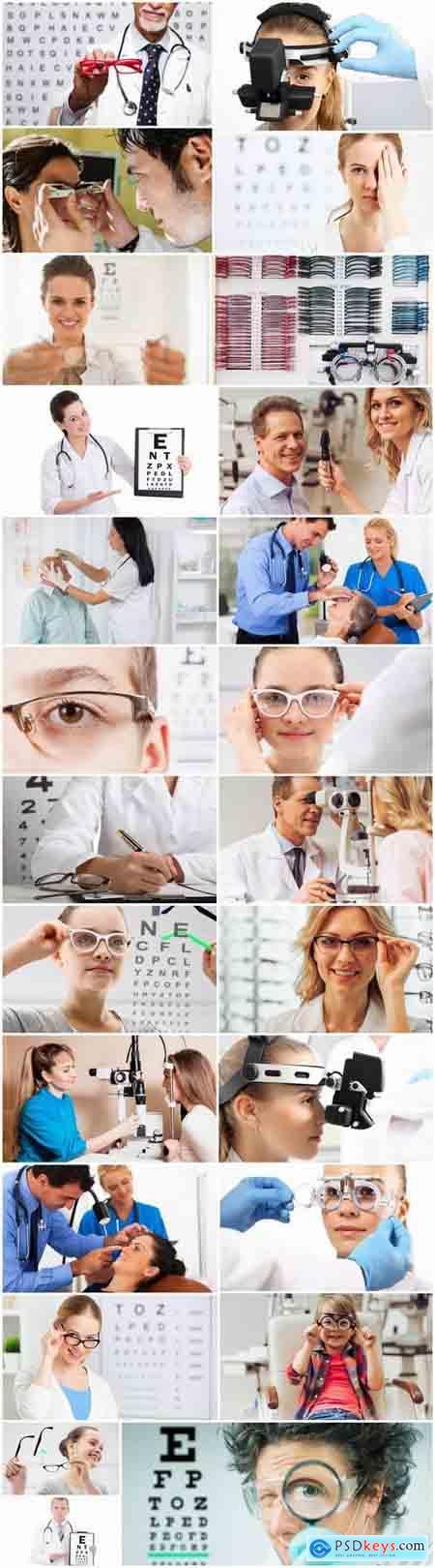 Glasses optometrist poor eyesight eye treatment 25 HQ Jpeg