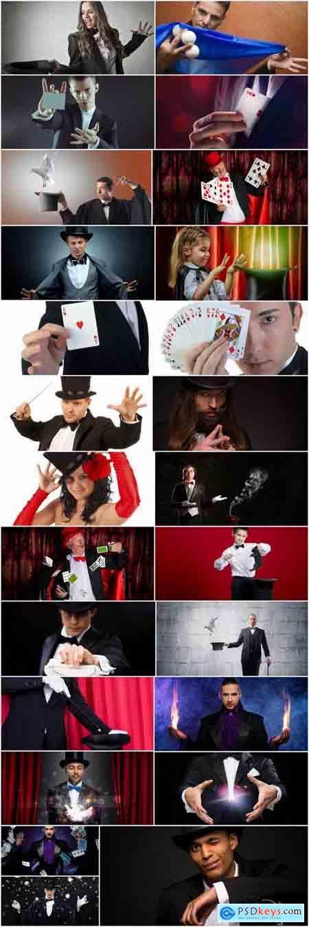 Magic trick magician magus illusionist illusion presentation show fraud 25 HQ Jpeg