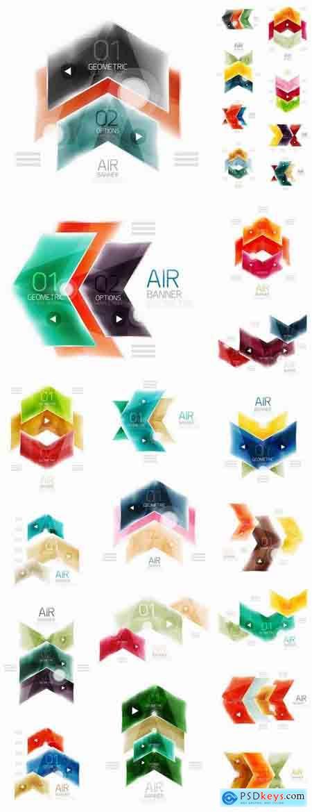Web design button infographics element website site design 25 EPS