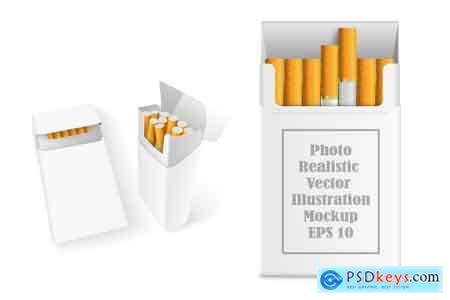 Creativemarket Realistic Cigarette Mockup