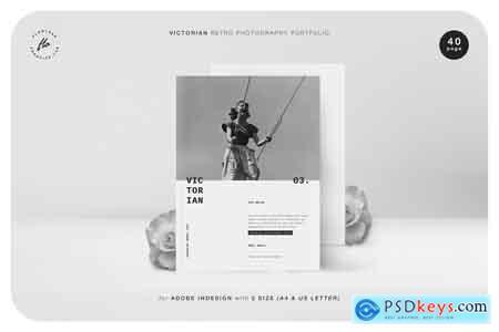 Creativemarket VICTORIA Retro Photography Portfolio