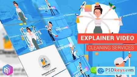Videohive Edit Explainer Video Cleaning Services Free