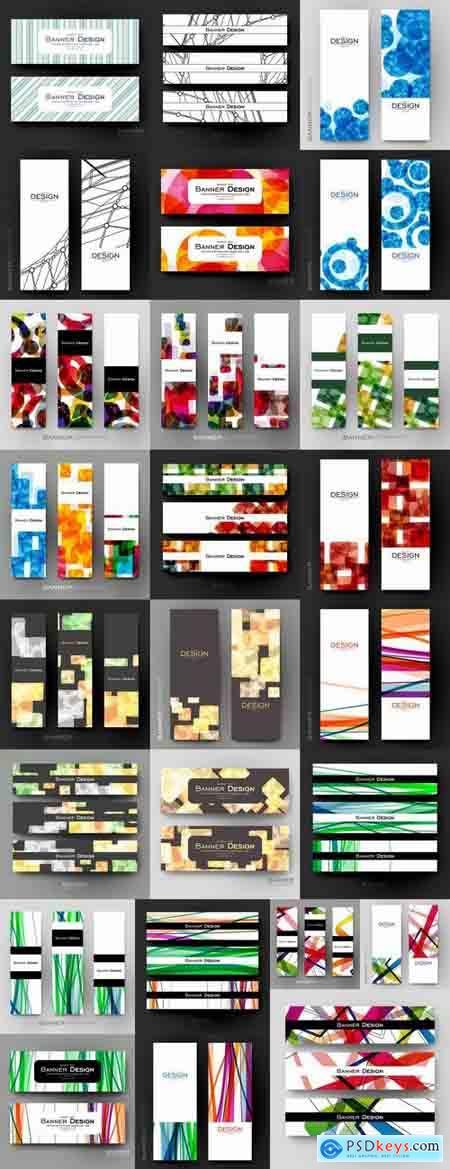Vector image flyer banner brochure business card 23-25 Eps
