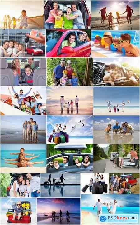 Family travel family mom dad children child vacation autorallies holidays 25 HQ Jpeg