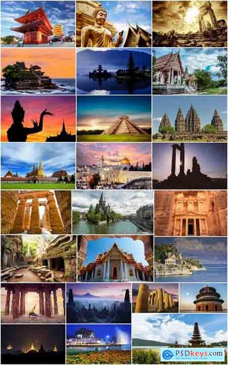 Old temple religion relic landscape of different countries 25 HQ Jpeg