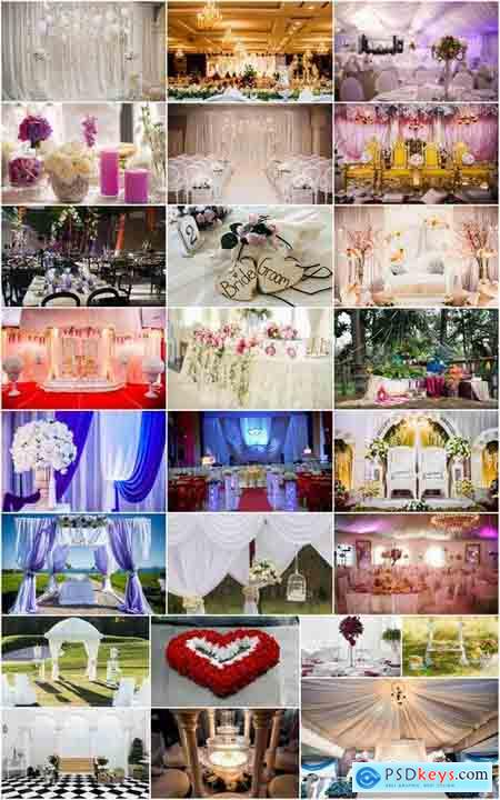 Interior decoration wedding hall pavilion room 25 HQ Jpeg