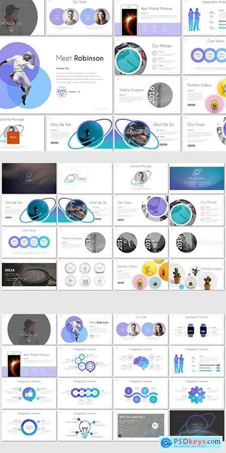 Orbit - PowerPoint, Keynote and Google Slides Template » Free