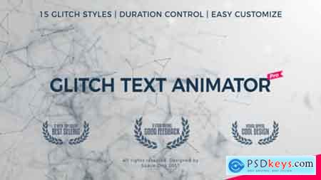 Videohive Glitch Text Animator PRO v4 Free