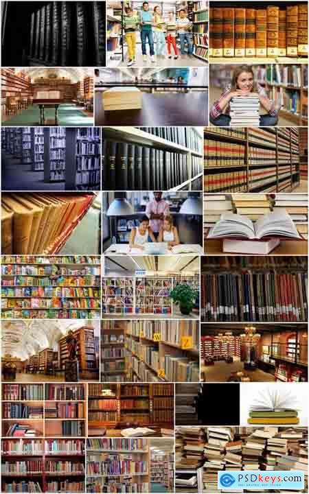 Library books book reading shelf bookcase student teaching of children 25 HQ Jpeg